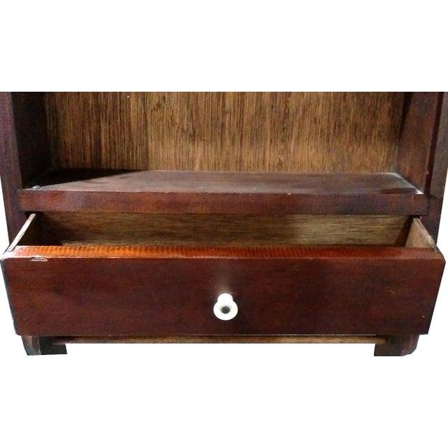"Antique ""Fair Lady"" Mirrored Medicine Cabinet - Image 8 of 8"