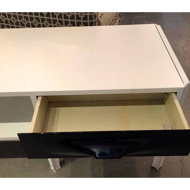 Mid Century Modern Raymond Loewy Low Two Sided Cabinet / Coffee Table - Image 6 of 8