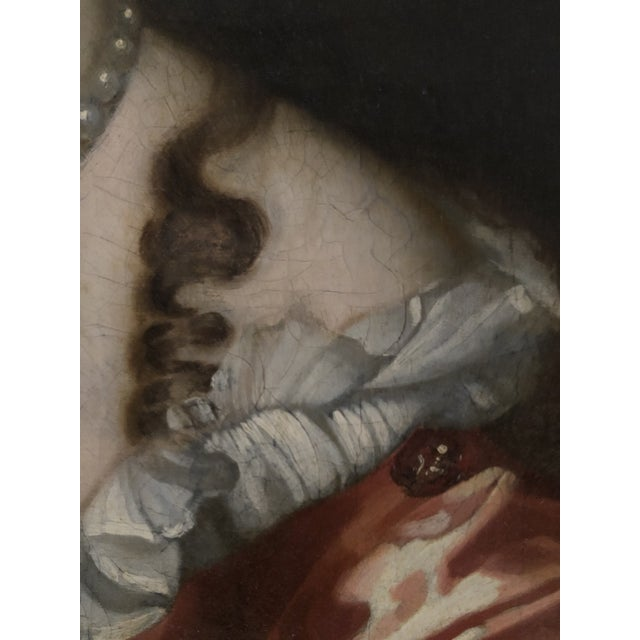 17th Century Oil on Canvas Painting For Sale - Image 10 of 13