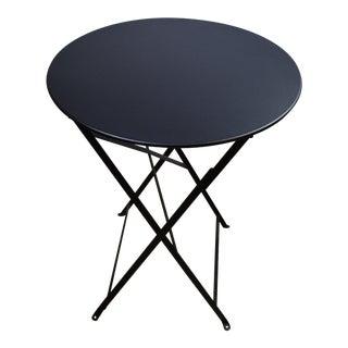 Black Fermob Bistro Table For Sale