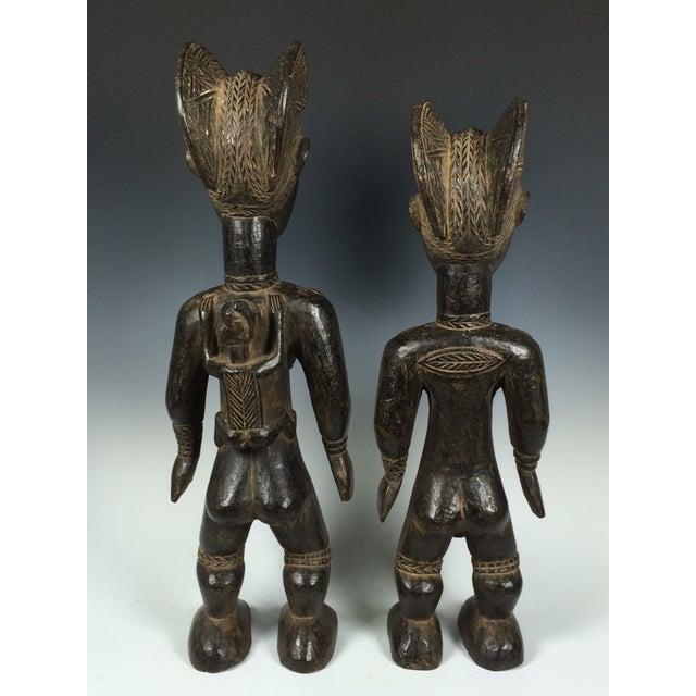 Ivory Coast African Dan Statues - A Par - Image 6 of 11