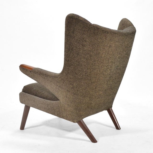 Hans Wegner Papa Bear Chair For Sale In Chicago - Image 6 of 9