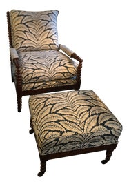 Image of Newly Made Chair & Ottoman Sets