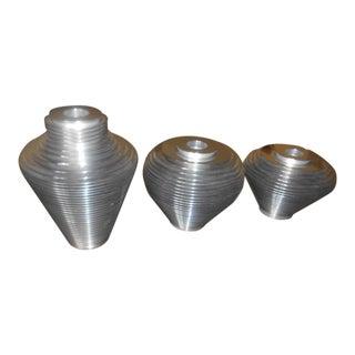 Avedis Baghsarian Atomic Spaceship Satellite Vases - Set of 3 For Sale