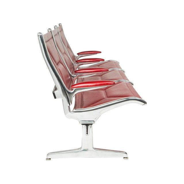 Eames for Herman Miller Tandem Sling Bench For Sale - Image 7 of 10