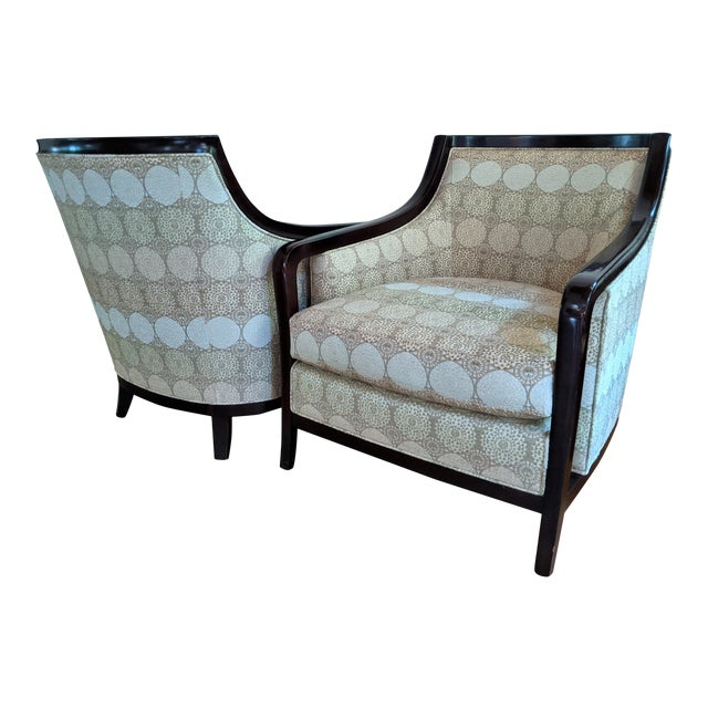 Barbara Barry for Baker Furniture Salon Chairs - a Pair For Sale