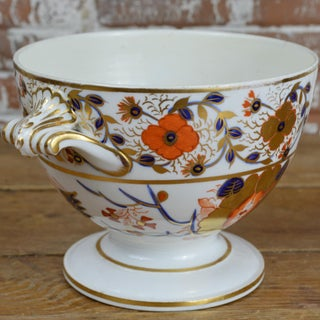 19th Century Crown Derby Old Japan Footed Bowl Preview