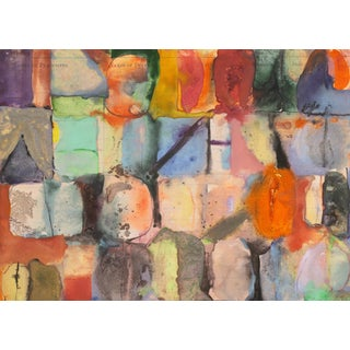 'Leap Year 2', Jury's Abstract, American Abstraction, 1960s For Sale