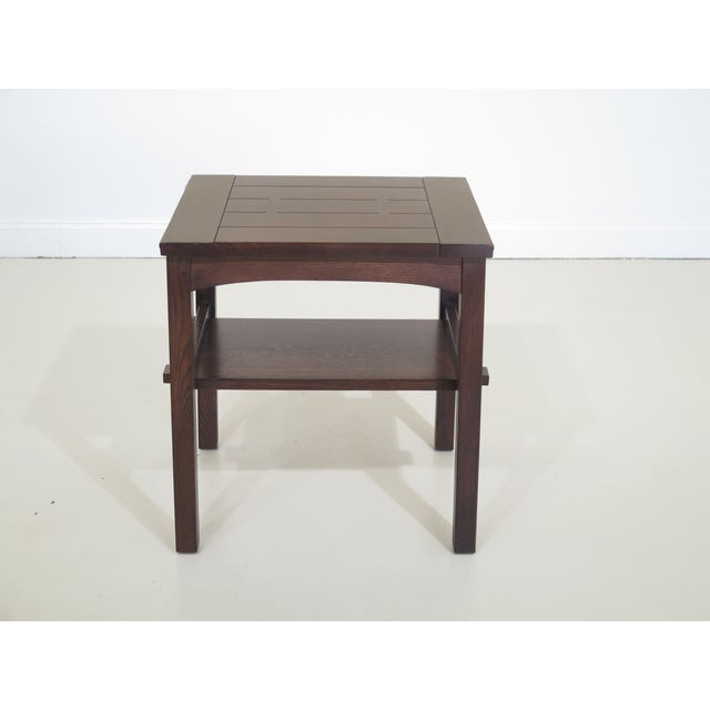 Stickley Mission Oak Arts & Crafts Occasional End Table For Sale - Image 10 of 10
