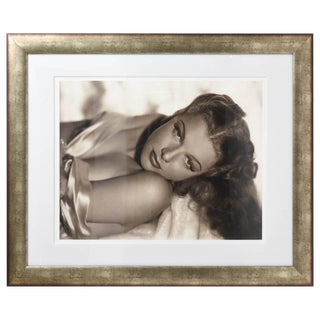Large Scale, Iconic Photograph of Ann Sheridan: George Hurrell 1938 For Sale