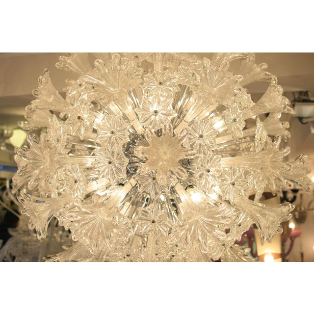 Espirit Glass Ceiling Light - A Pair For Sale - Image 4 of 5
