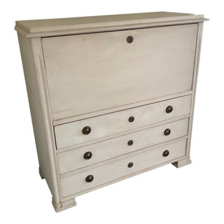 19th Century Gustavian Swedish Drop Down Secretaire For Sale
