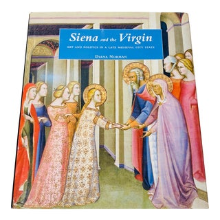 """""""Siena and the Virgin"""" Large Size Art Book Coffee Table Book For Sale"""