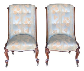 Image of William IV Slipper Chairs