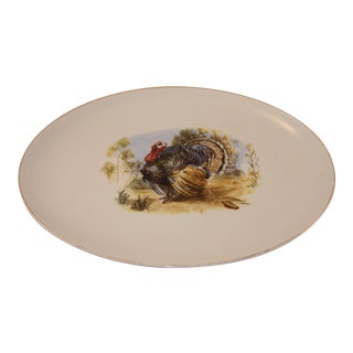 1970s Vintage Turkey Serving Platter For Sale
