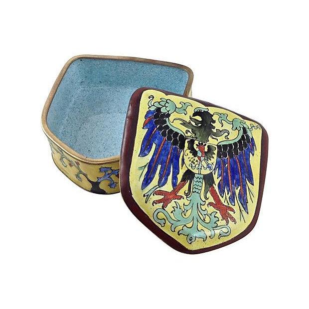 Coat of Arms Enamel Box - Image 5 of 6