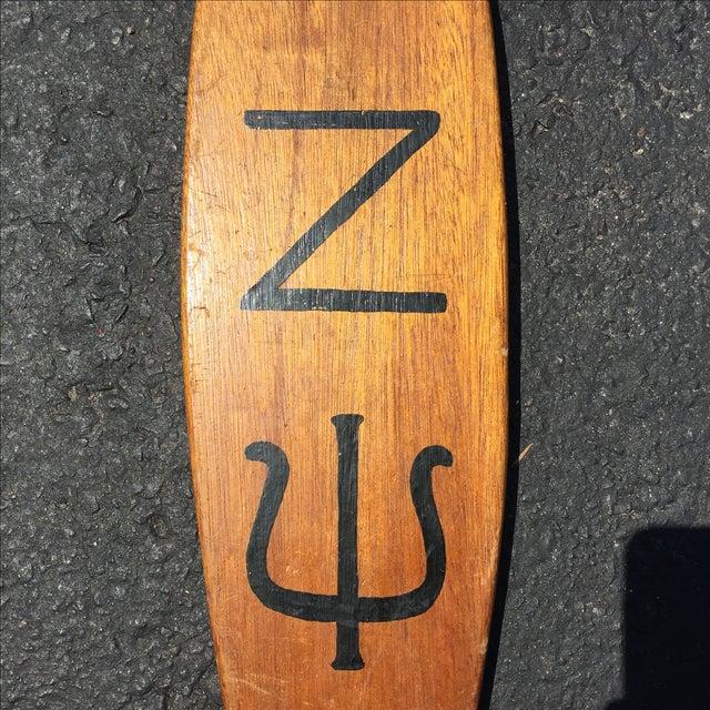 Vintage Fraternity Paddle Zeta Psi - Image 4 of 5
