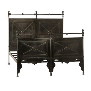 Cast Iron Work Bed Frame Queen For Sale