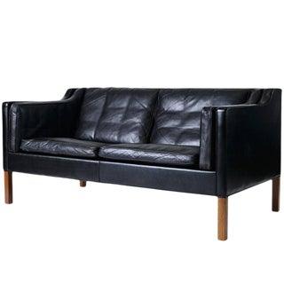 Borge Mogensen Model #2212 Two-Seat Sofa For Sale