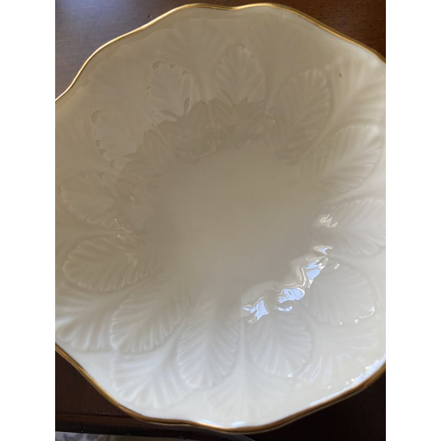 These vintage Lenox bowls were purchased in the 1970's and make a great addition to a curio cabinet or more formal table...