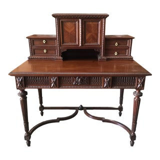19th Century French Louis XVI-style Desk For Sale