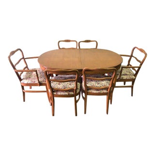 Mid-Century Modern Rway Dining Set- 7 Pieces For Sale