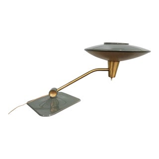 Mid-Century Modern Flying Saucer Ufo Lamp by Dazor For Sale