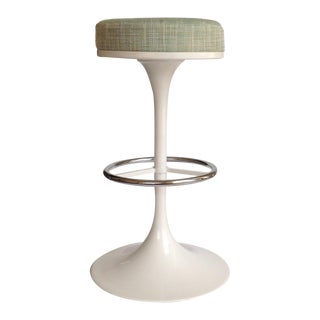 Tulip Bar Stool In-Style of Eero Saarinen/Knoll For Sale