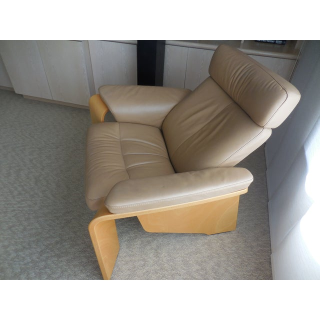 Ekornes ASA Stressless Leather Reclining Chair - Image 3 of 6