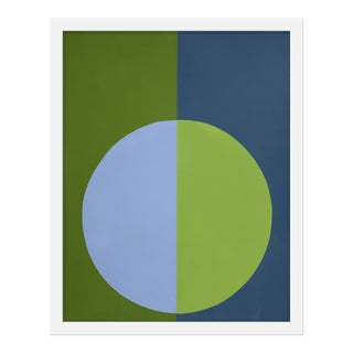 "Small ""Blue and Green Forever"" Print by Stephanie Henderson, 16"" X 20"""
