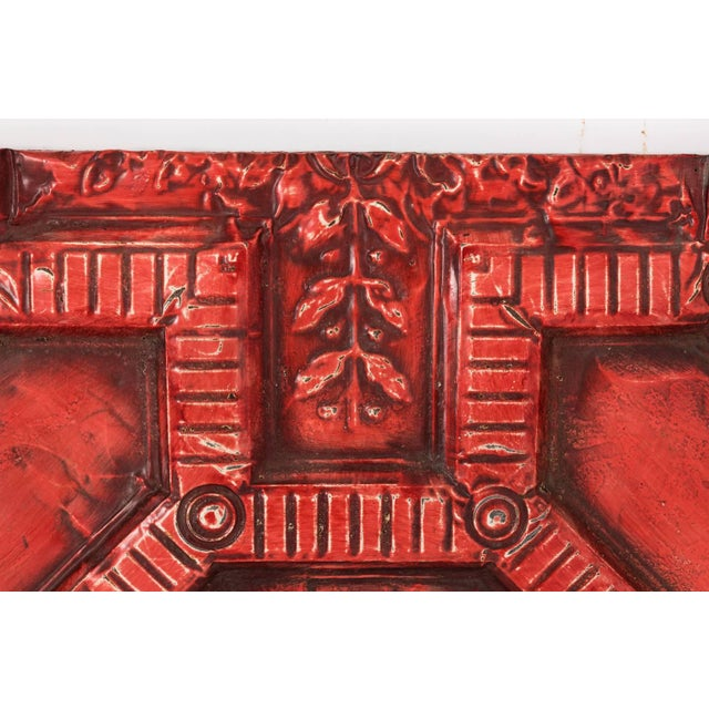 Mid 20th Century Tin Ceiling Panel For Sale - Image 5 of 13