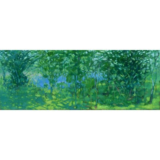 """A Midsummer Day's Dream"" Large (32"" X 80"") Contemporary Painting by Stephen Remick For Sale"