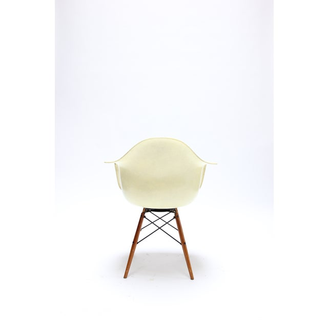 Vintage Eames PAW Swivel chair for Herman Miller For Sale - Image 5 of 11