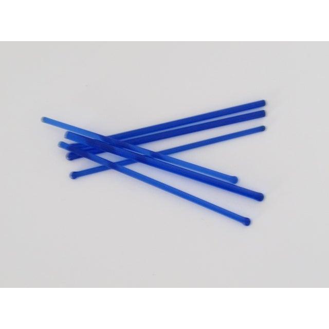 Cobalt Glass Drink Stirrers - Set of 6 - Image 3 of 3