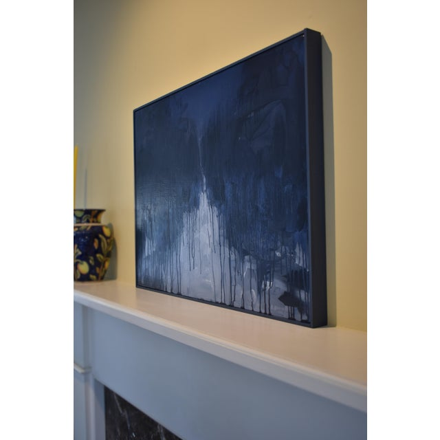 "Wood ""Moonlit Snowy Path"", Contemporary Abstract Painting by Stephen Remick For Sale - Image 7 of 10"