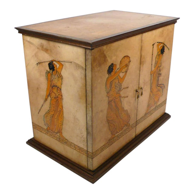 Goatskin Cabinet For Sale
