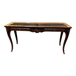 Chinoiserie Style Et Cetera Console Table by Drexel Heritage For Sale