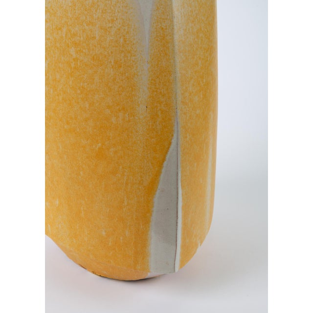 Drip-Glaze Stoneware Lamp by David Cressey for Architectural Pottery For Sale In Los Angeles - Image 6 of 9