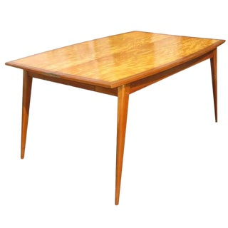 Pleasant Vintage Used Burlwood Tables Chairish Beutiful Home Inspiration Cosmmahrainfo