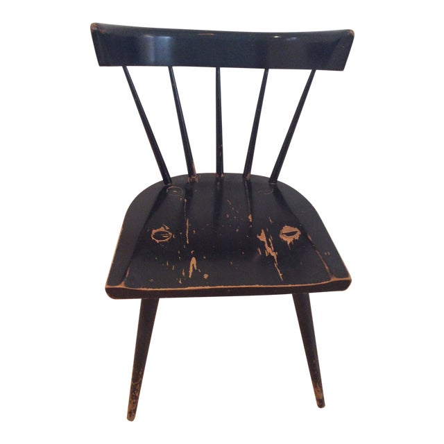1960s Mid-Century Modern Paul McCobb Spindle Back Chair For Sale