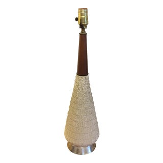 Mid-Century Modern Speckle Table Lamp For Sale