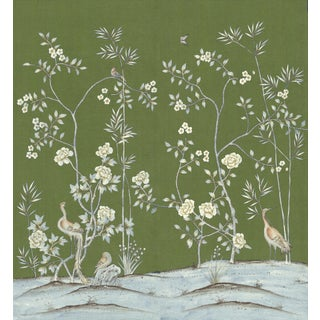 "Casa Cosima Moss Brighton Wallpaper Mural - 2 Panels 72"" W X 96"" H For Sale"
