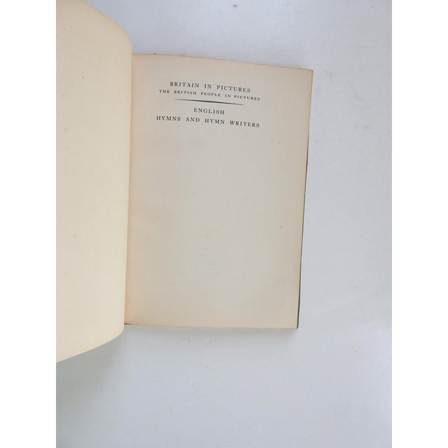 English Hymns and Hymn Writers by Adam Fox. Collins, London, 1947. Illustrated green paper binding on boards, edge wear,...