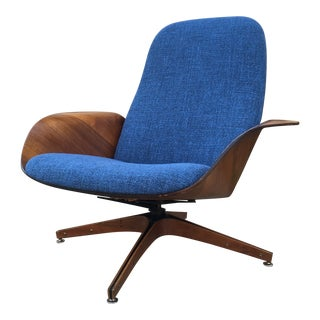 Mid Century Modern Plycraft by George Mulhauser Mr. Chair For Sale