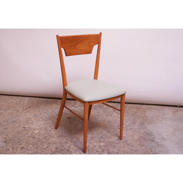 Green Stained Maple Dining Chairs by Paul McCobb for Perimeter - Set of 8 For Sale - Image 8 of 13