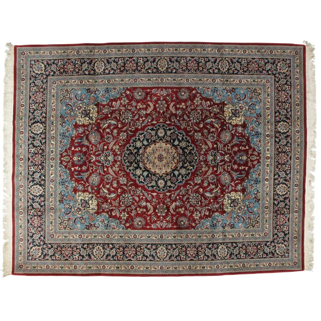 "Leon Banilivi Sino Persian Tabriz Carpet - 8'2"" x 10'2"" - Image 1 of 5"