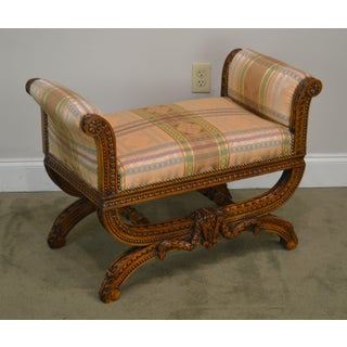 Fine Quality French Louis XV Style Carved Bench Preview