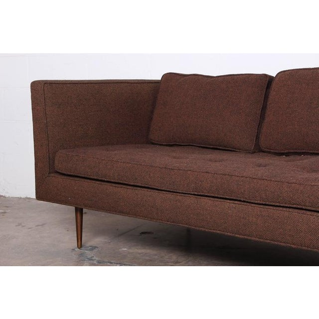 Brass Sofa/Chaise by Edward Wormley for Dunbar For Sale - Image 7 of 7