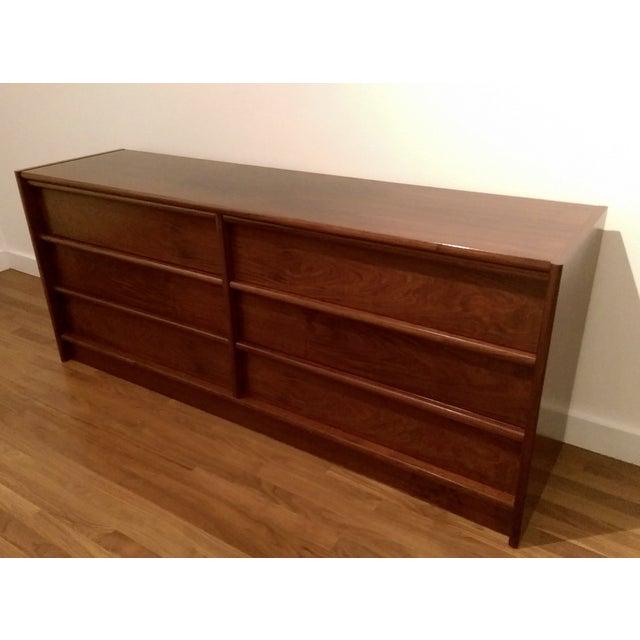 Mid-Century Modern 6-Drawer Rosewood Dresser From Belgium - Image 4 of 10