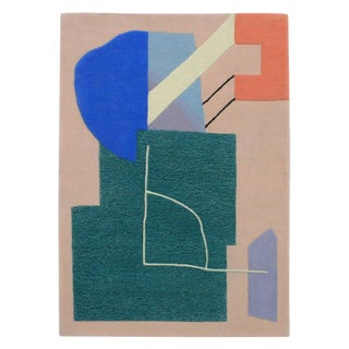 Contemporary Studio Proba a Poster a Day Rug For Sale
